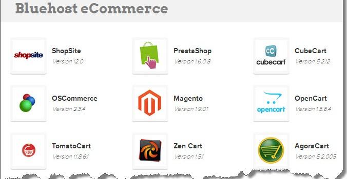 BlueHost E-commerce Hosting