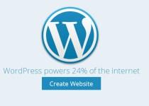 create website with wordpress