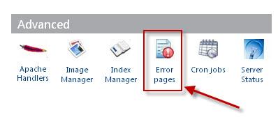 Custom your Error 404 Page