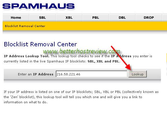 Free Website IP Blacklist Checker – Better Host Review