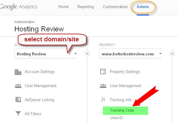 Add New Google Universal Analytics to Any WordPress Websites