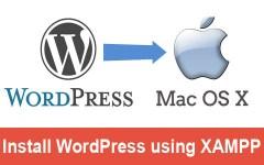 install wordpress on mac using xampp