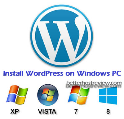 install wordpress on windows pc