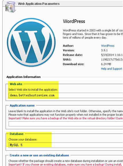 can you install wordpress on windows server