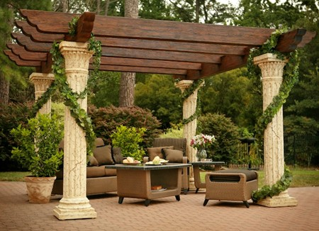 Pergola Patio Entertainment Better Home Improvement
