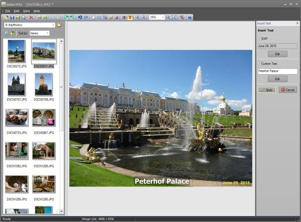 Edit JPEG photos without recompression loss - Better JPEG