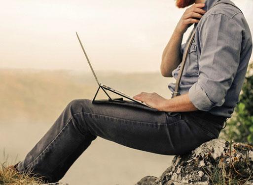 Aecraft Peak Laptop Cover
