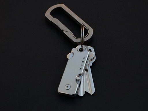 Bandit Titanium Keychain Knife