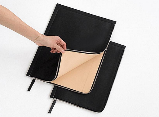 Building Block Leather Sleeves interior