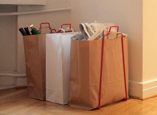 Helsinki Paper Bag Holder