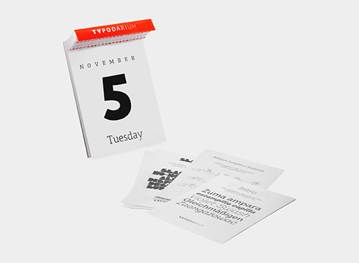 365 Fonts Page-a-Day Calendar