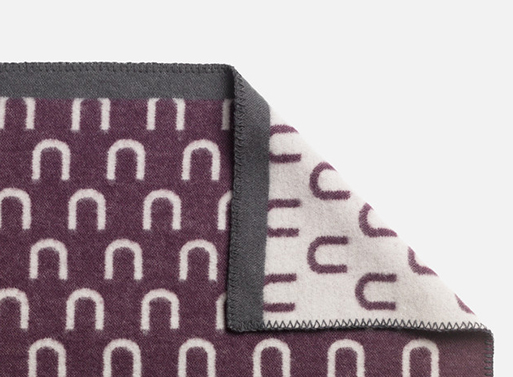Arch Wool Throw by Arthur Arbesser