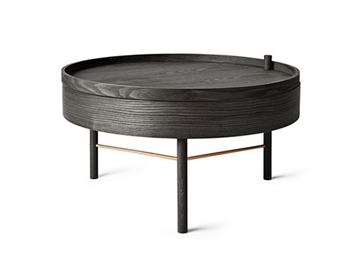 Turning Table from Menu black ash