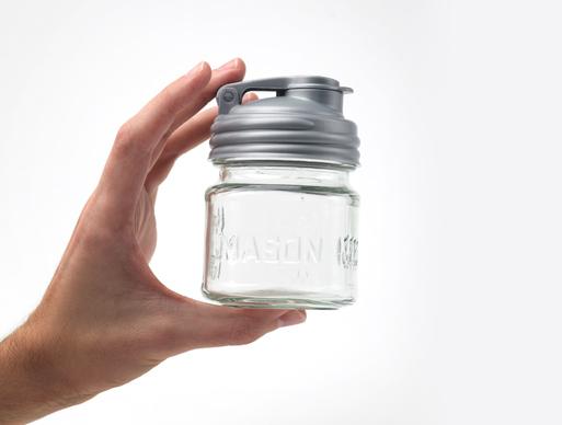 reCAP Mason Jar Pour Cap silver