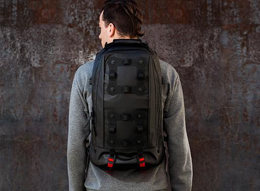 Black Ember Modular Urban Backpacks Neoruk
