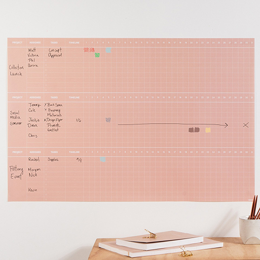 Project Wall Planner