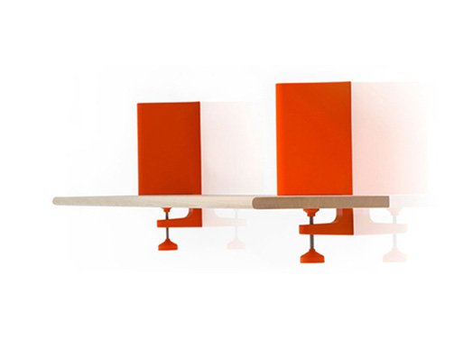 Spike Shelving Clamp by KONSTANTIN GRCIC