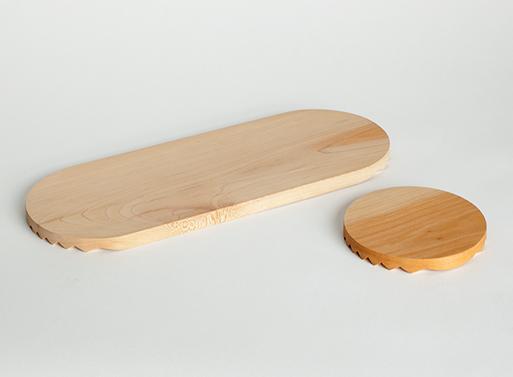 Zig Zag Cutting Board Set
