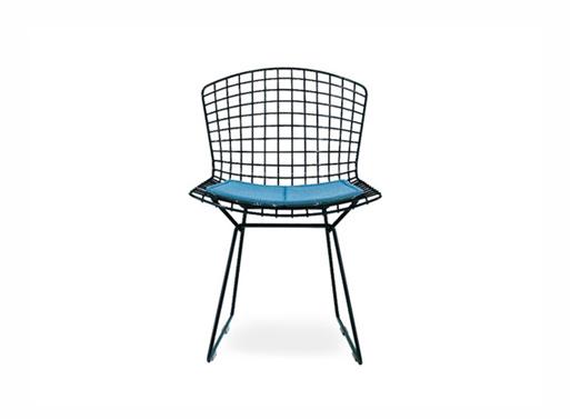Bertoia Side Chair Black