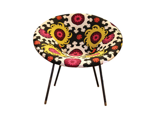 Bokja Vintage Bucket Chair