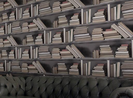 Bookshelf Wallpaper 2