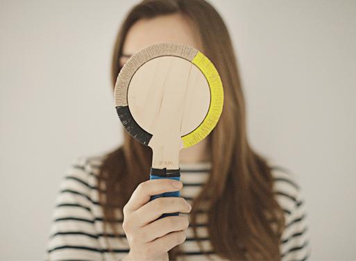 Bound Hand Mirror