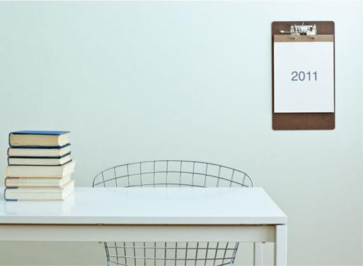 2011 Clipboard Calendar