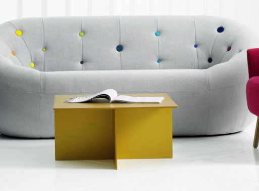 Anodised Coffee Table - Gold