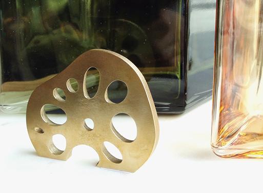Brass Lotus Root Bottle Opener