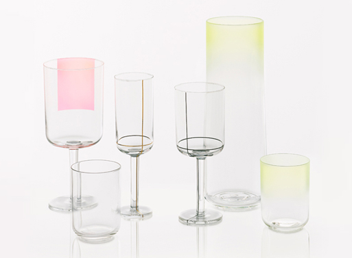 Scholten & Baijings Colour Crystal Stemware