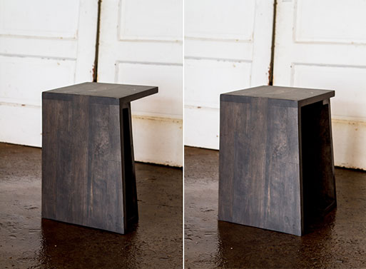 Strand End Table