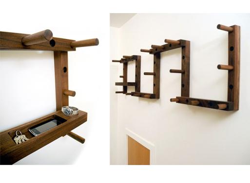 Thru-Block key shelf