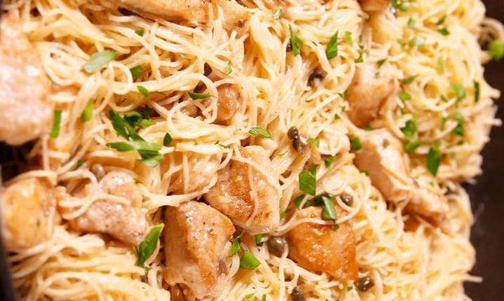 Chicken Pasta with Lemon Butter Sauce | Bahamas Real Estate