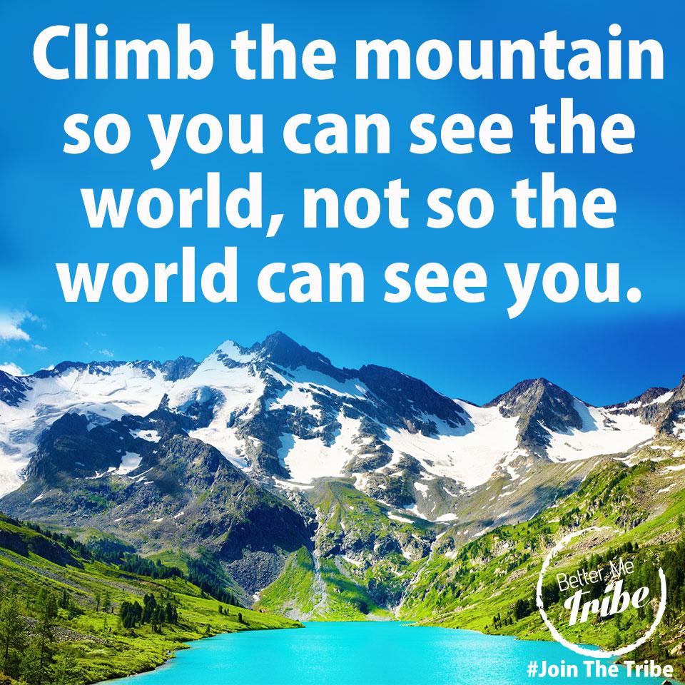 Just Climb…
