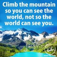 Just Climb...