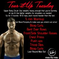 Upper Body - Week 1