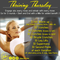 Thriving Thursday - Week 3