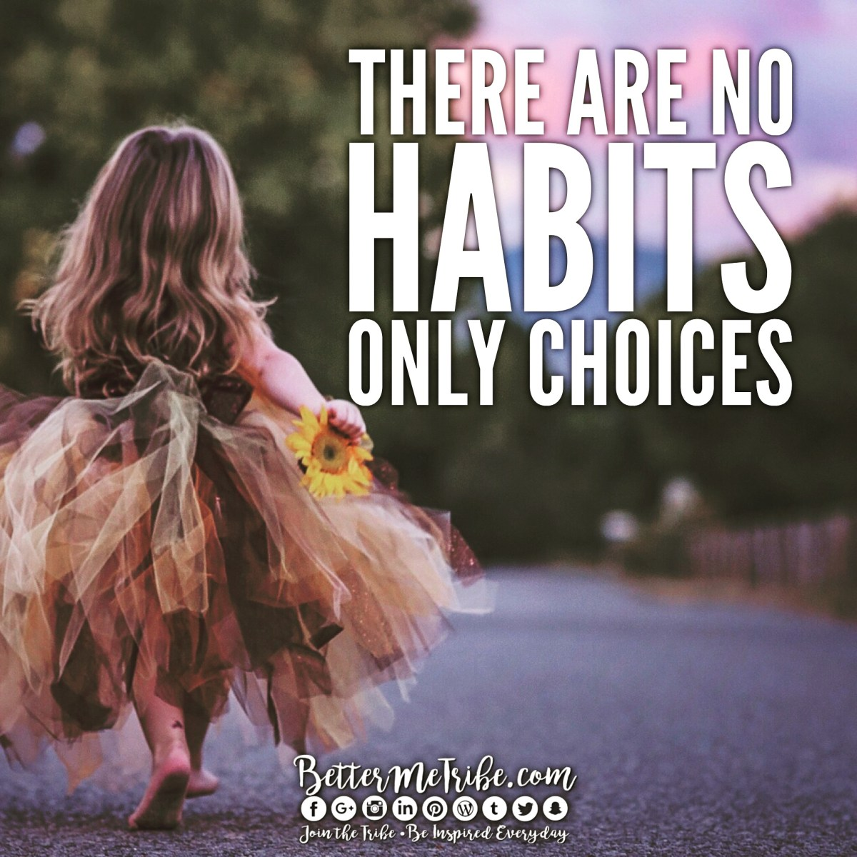 No Habits, Only Choices
