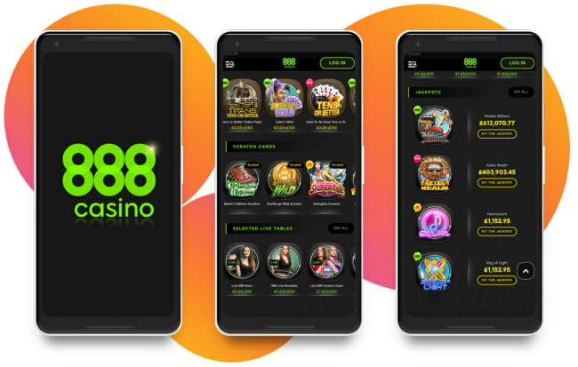 888Casino Available for Mobile