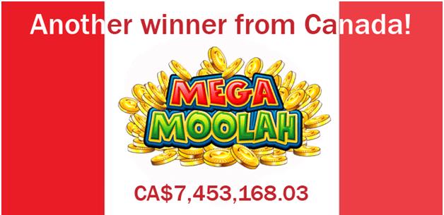 Mega Moolah Canadian winners
