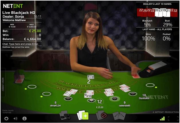 Best mobile casin game - Blackjack