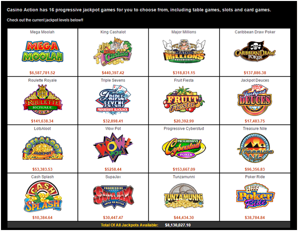 Casino Action Games