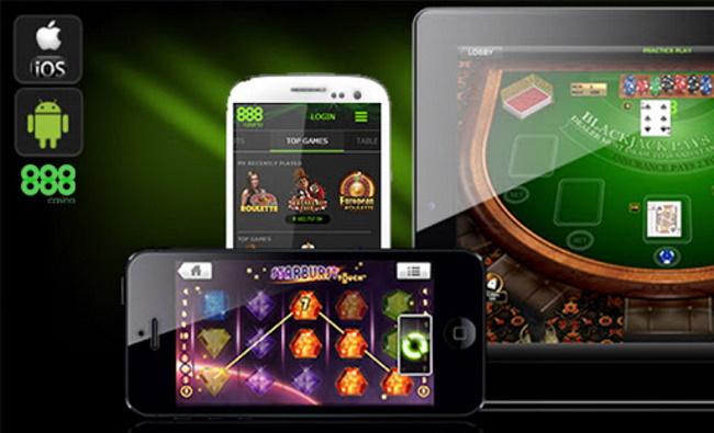 Different device compatibility of 888casino App