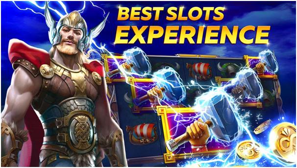 Slot games at Infinity slots app