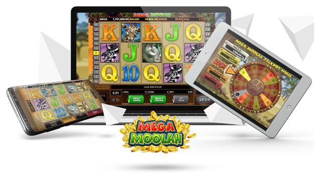 How to play Mega moolah