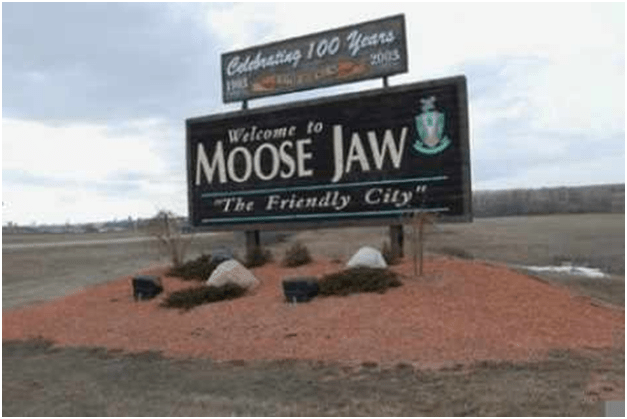 Wi Fi Spots at Moose Jaw Canada