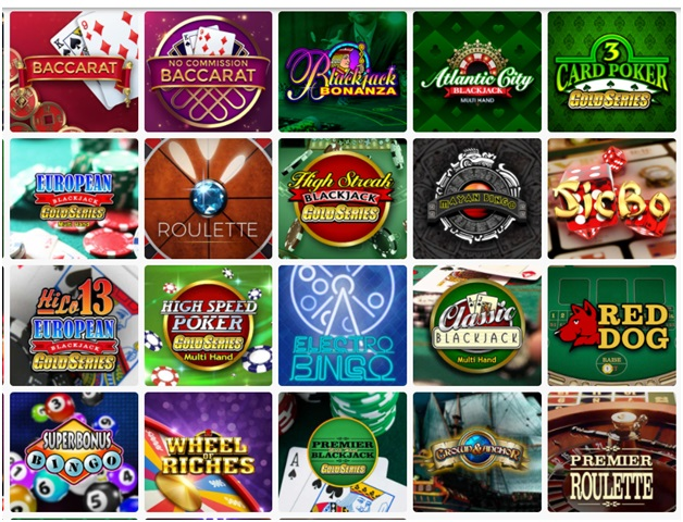 Platinum Play mobile casino Canada- Table Games- Baccarat