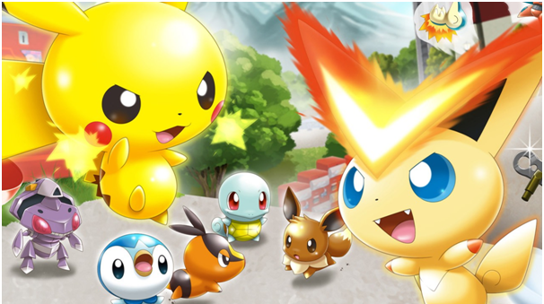 Pokemon Rumble Rush Game app for mobile Canada