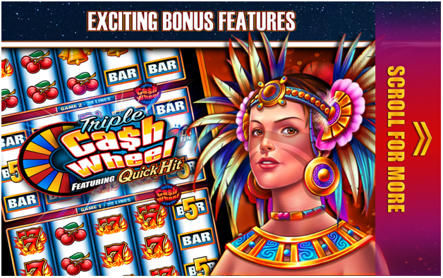Quick Hit Slots Game Features