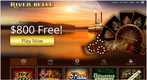 River Belle Casino Canada No Download Casino